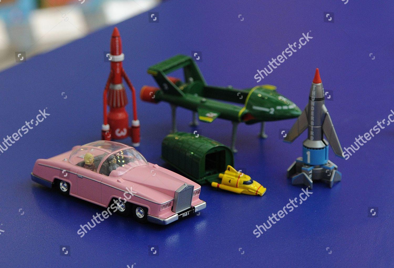 Thunderbirds Toys Corgi Corgi Celebrating 60 Years Editorial Stock