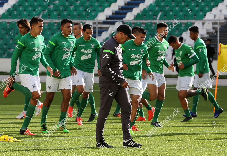 d589ad9b1 Bolivia national soccer team Coach Mauricio Soria Editorial Stock ...