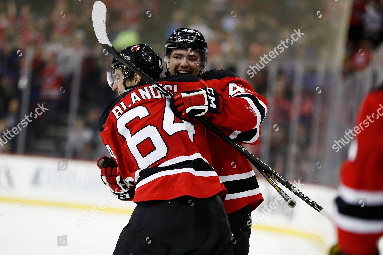 c11768c87 Editorial Stock Photo of New Jersey Devils left wing Joseph Blandisi ...