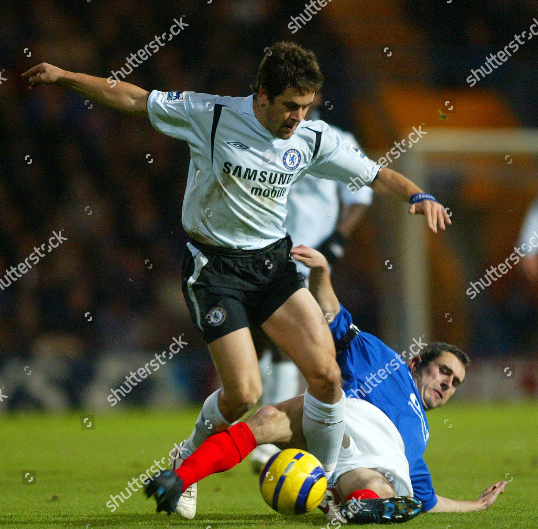 Stock photo of Fa Barclays Premiership Portsmouth V Chelsea - 26 Nov 2005