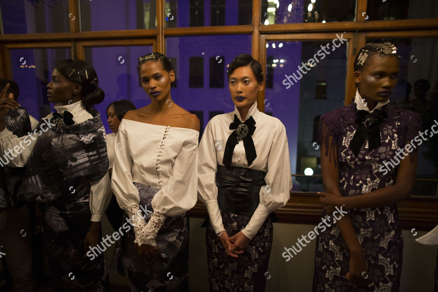 Models Prepare Show By South African Designer Editorial Stock Photo Stock Image Shutterstock