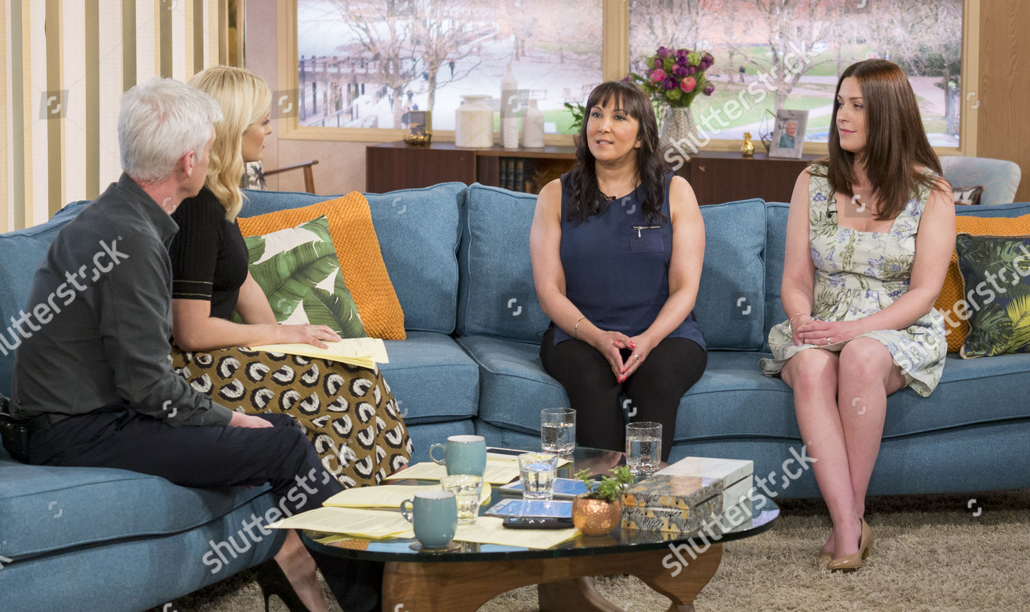 Stock photo of 'This Morning' TV show, London, UK - 29 Mar 2017