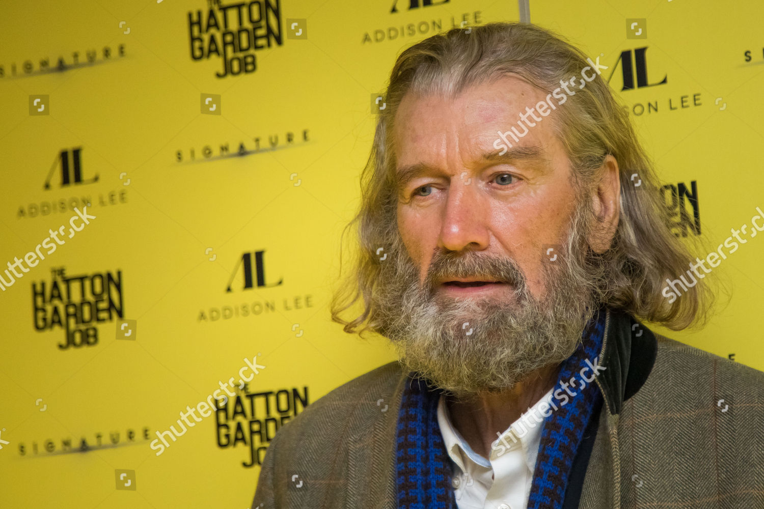 Clive Russell ladies in lavender