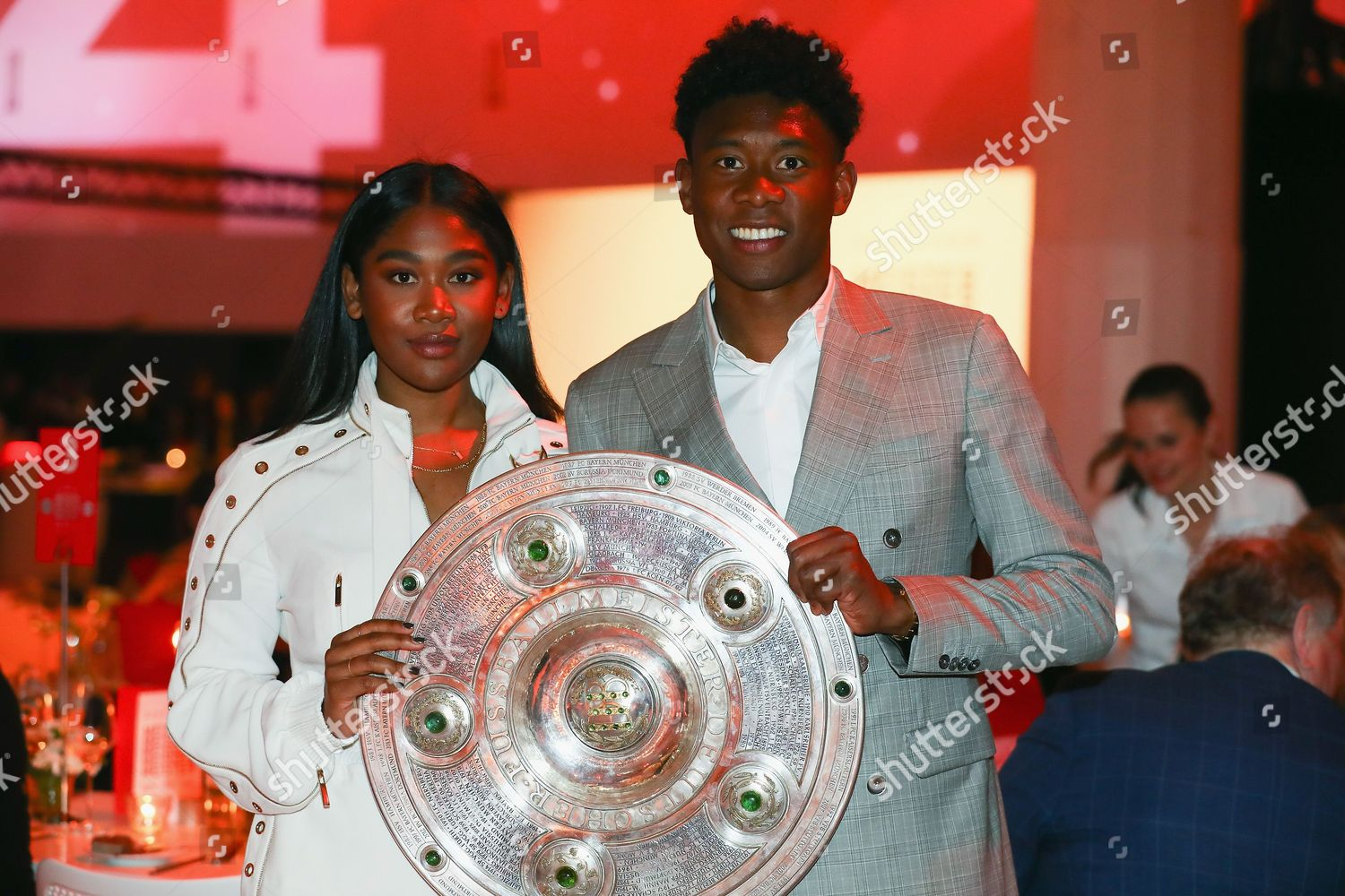 David Alaba Rose May Alaba Editorial Stock Photo Stock Image