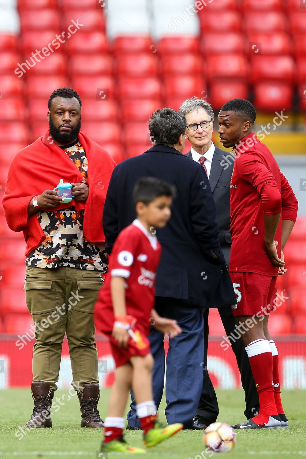 Liverpool owner John W Henry Chaiman Tom Editorial Stock