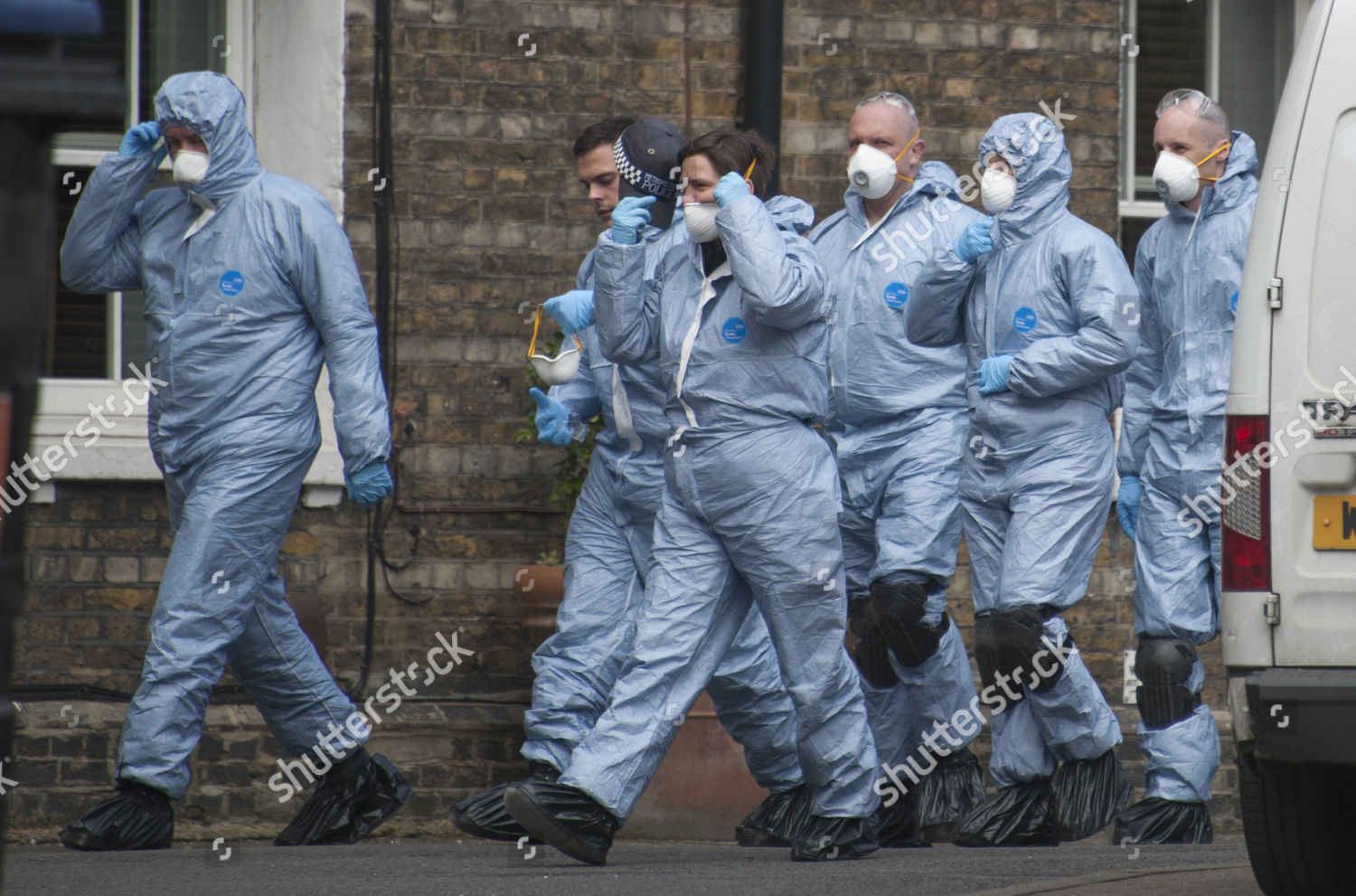 Forensic Police Officers Peabody Estate Southwark South