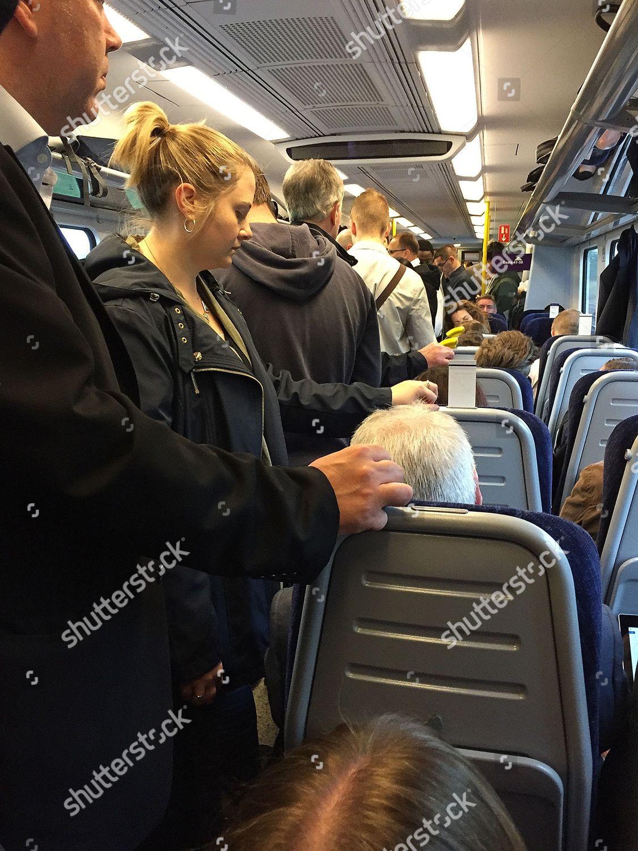 Commuters Onboard Trans Pennine Express 0422 Train Editorial