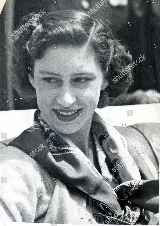 Princess Margaret May 1949 Princess Margaret Young Editorial Stock