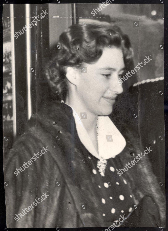 Editorial Stock Photo Of Princess Margaret 16th December 1954