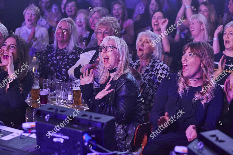 Women audience react show Shiregreen Club Sheffield