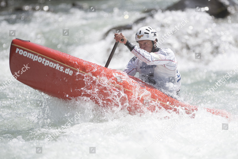 Norman Weber Germany Men C1 Canoe ICF Editorial Stock Photo