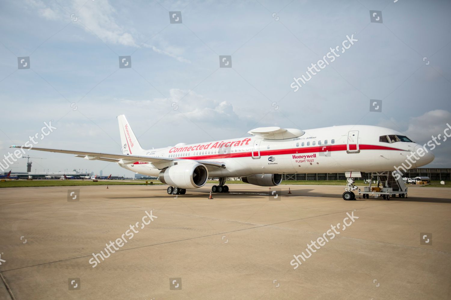 this image released full aircraft view Honeywell Editorial Stock
