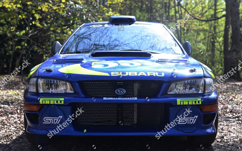 Colin Mcrae Subaru Impreza Editorial Stock Photo Stock Image