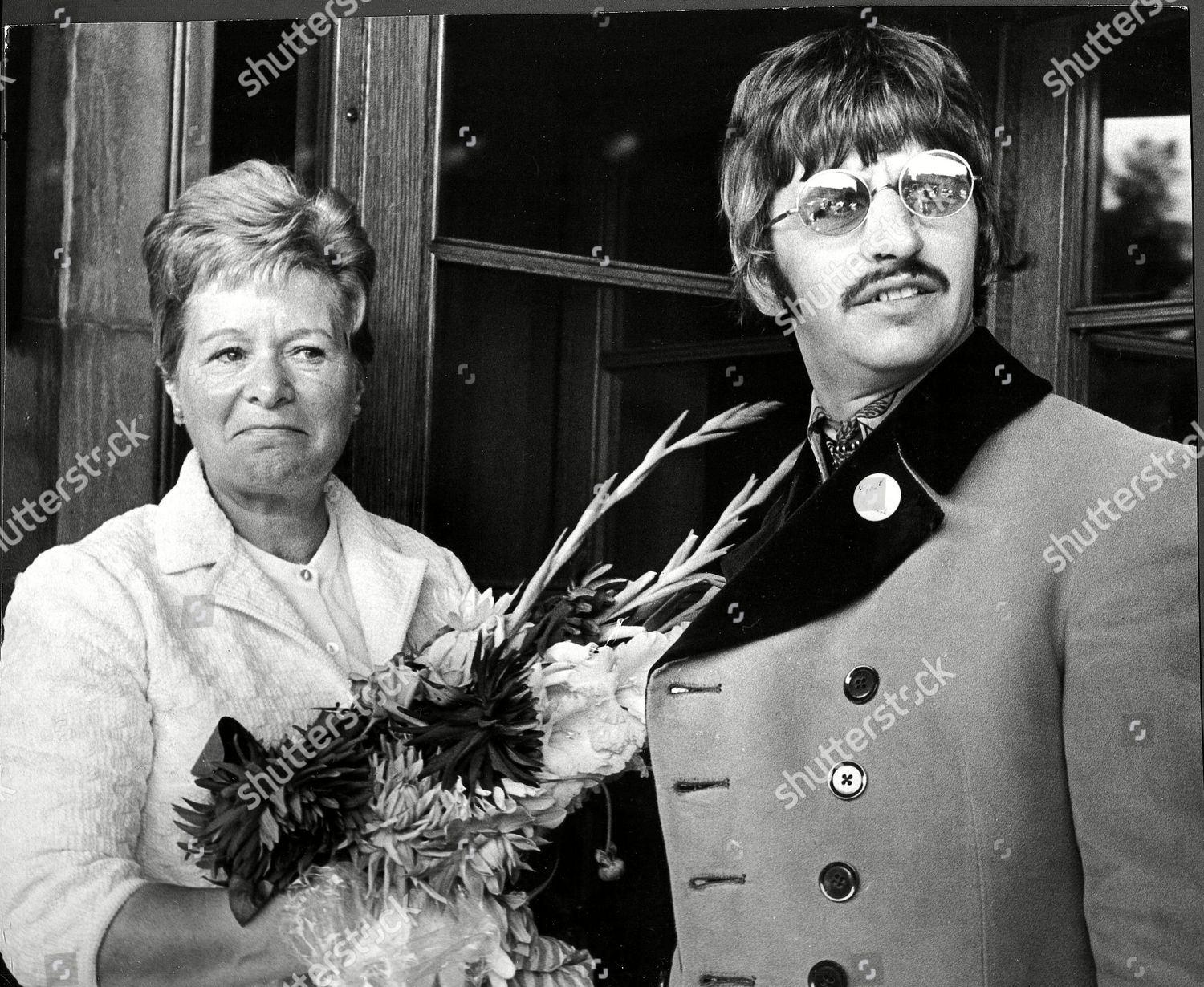 Ringo Starr Pictured His Motherinlaw Florence Cox Editorial Stock