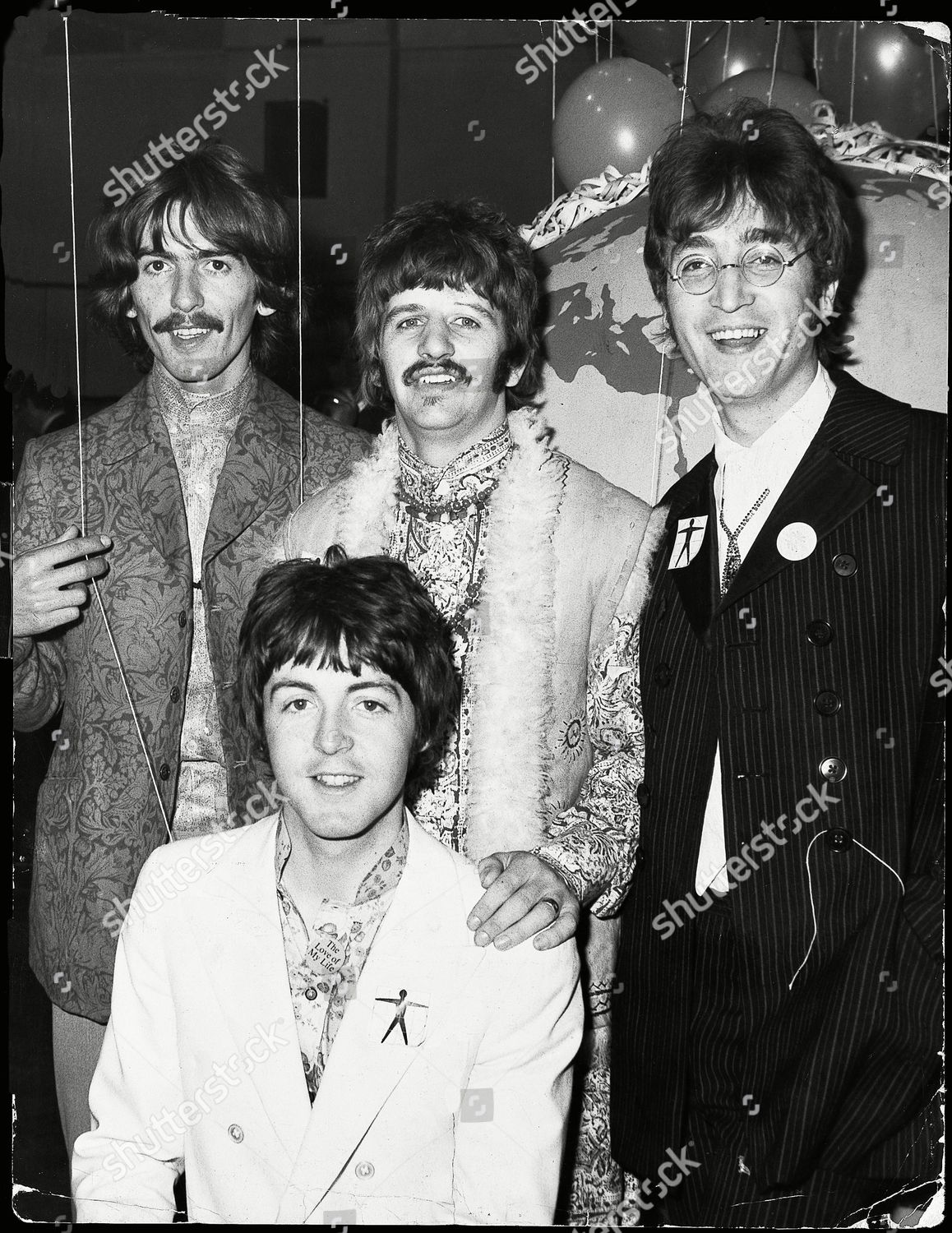 Paul Mccartney George Harrison Ringo Starr John Editorial Stock Photo Stock Image Shutterstock