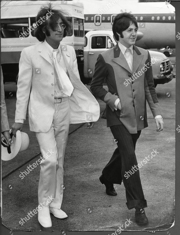 John Lennon Paul Mccartney Set Off New Editorial Stock Photo Stock Image Shutterstock