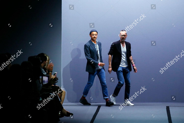 Dutch Fashion Designers Viktor Horsting Left Rolf Editorial Stock Photo Stock Image Shutterstock