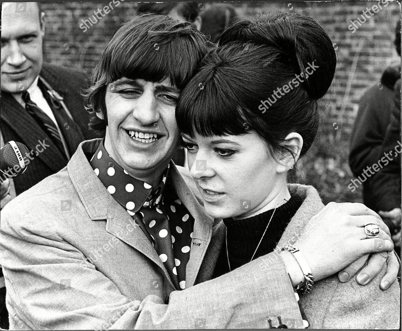 Ringo Starr His New Wife Maureen Starkey Editorial Stock ...