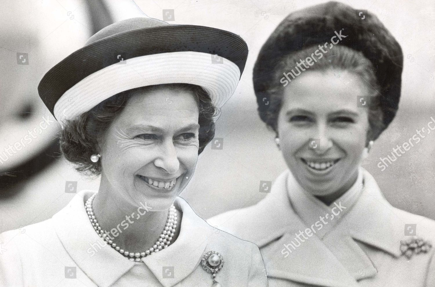 05071970 Queen Elizabeth II Princess Anne now Editorial ...