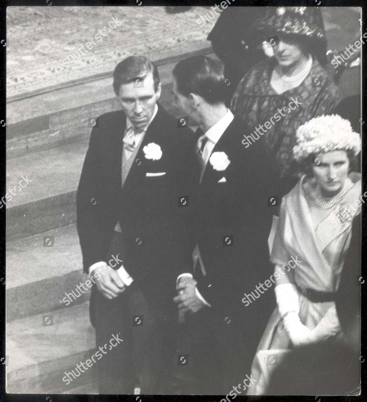 Princess Margaret Lord Snowd0n 1960 Wedding Day Editorial Stock