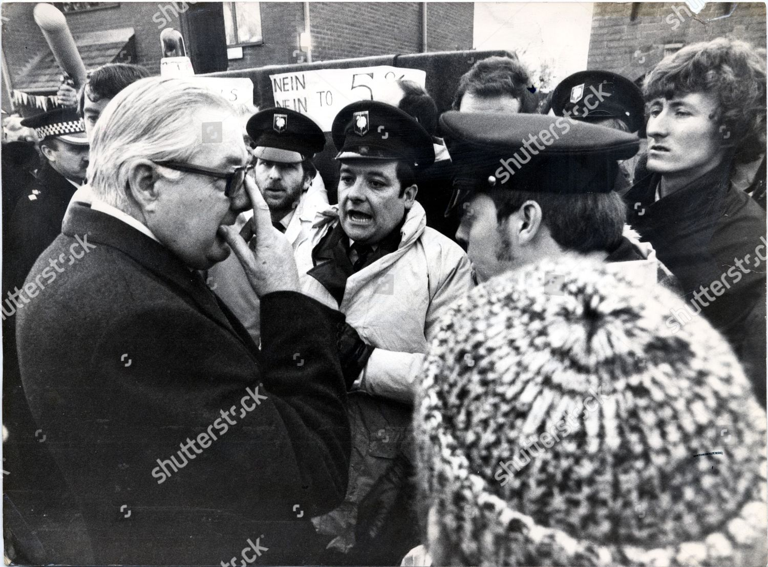 Prime Minister James Callaghan lord Callaghan Cardiff