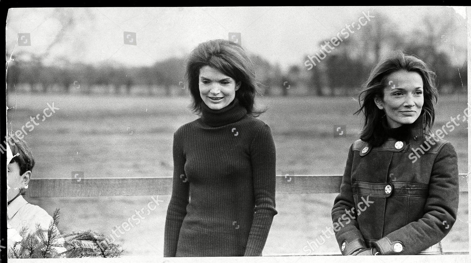 Jackie Onassis Pictured Her Sister Princess Lee Editorial Stock