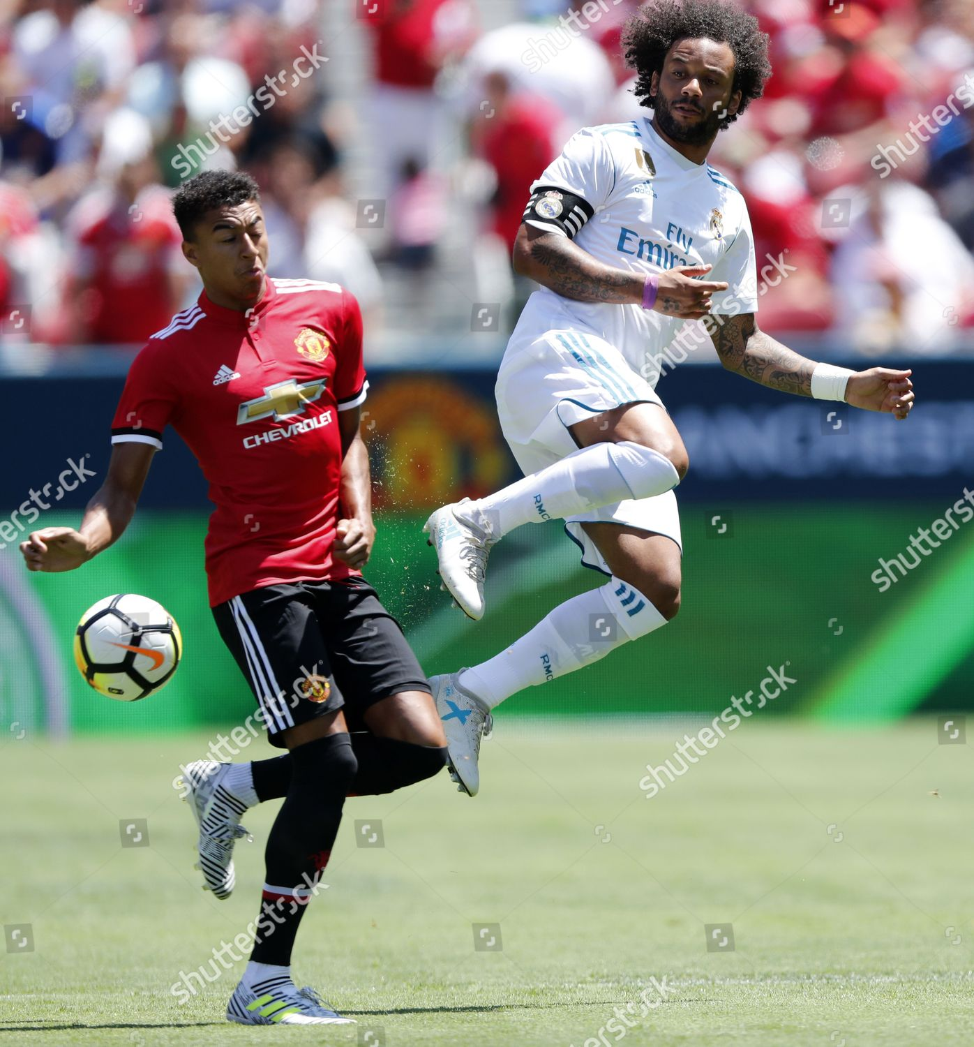 Marcelo Vieira Da Silva Junior Jesse Lingard Editorial Stock Photo