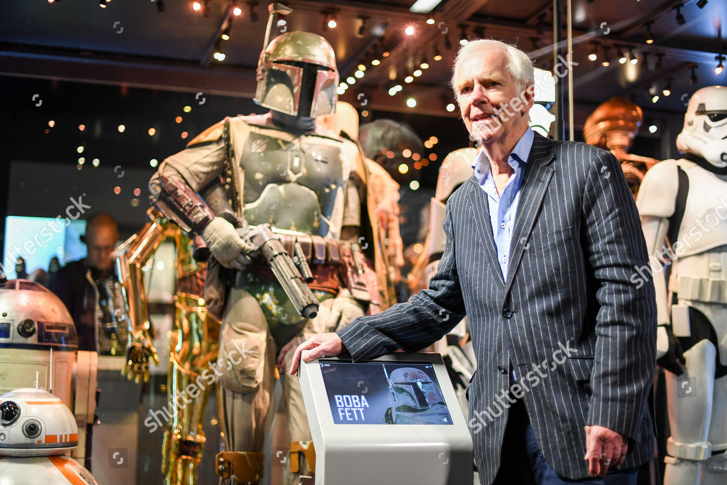 Stock photo of Star Wars Identities exhibition photocall, London, UK - 26 Jul 2017