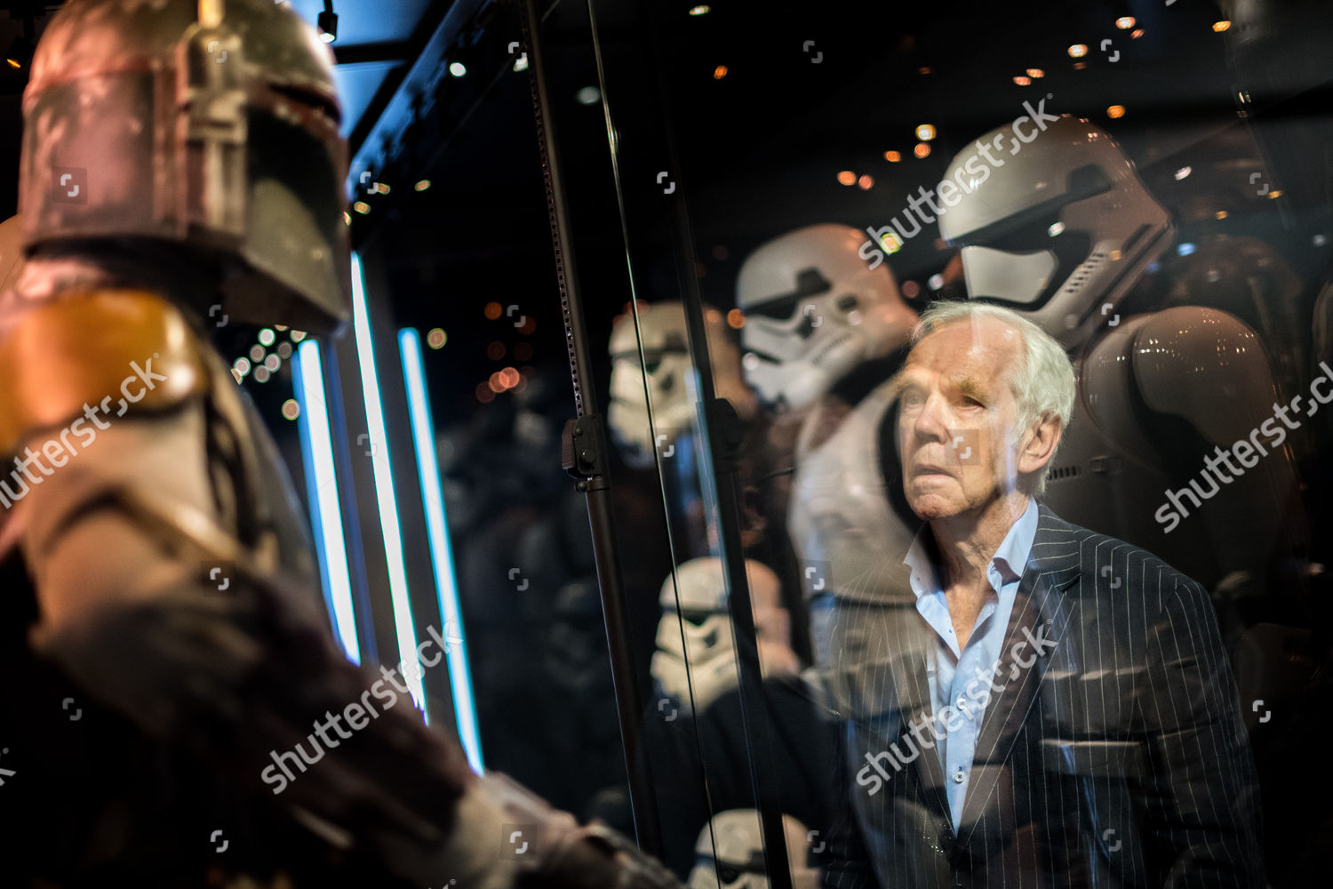 Stockfoto von Star Wars Identities exhibition photocall, London, UK - 26 Jul 2017