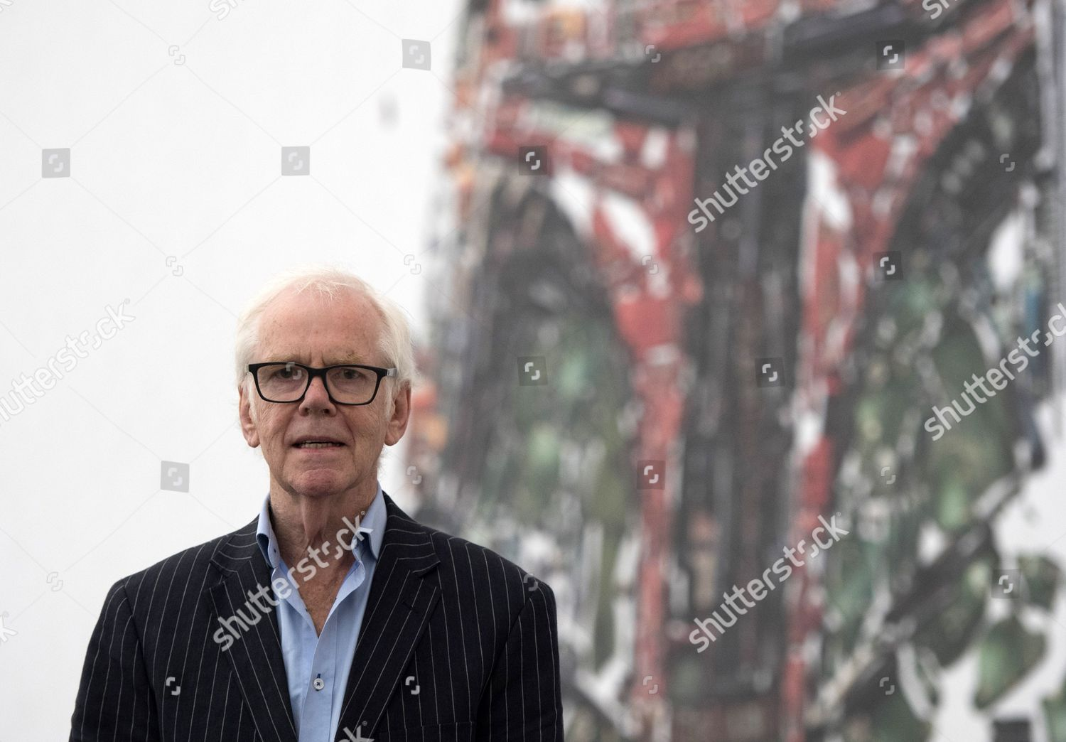 Stockfoto von Star Wars actor Jeremy Bulloch attends photocall at Star Wars Identities, London, United Kingdom - 26 Jul 2017