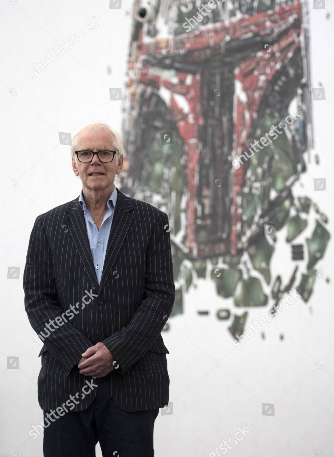 Stock photo of Star Wars actor Jeremy Bulloch attends photocall at Star Wars Identities, London, United Kingdom - 26 Jul 2017