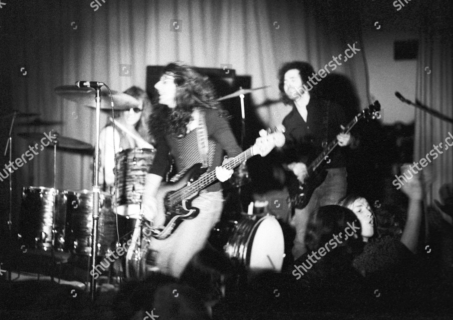 Budgie concert Kings Hall Derby Pete Boot Editorial Stock