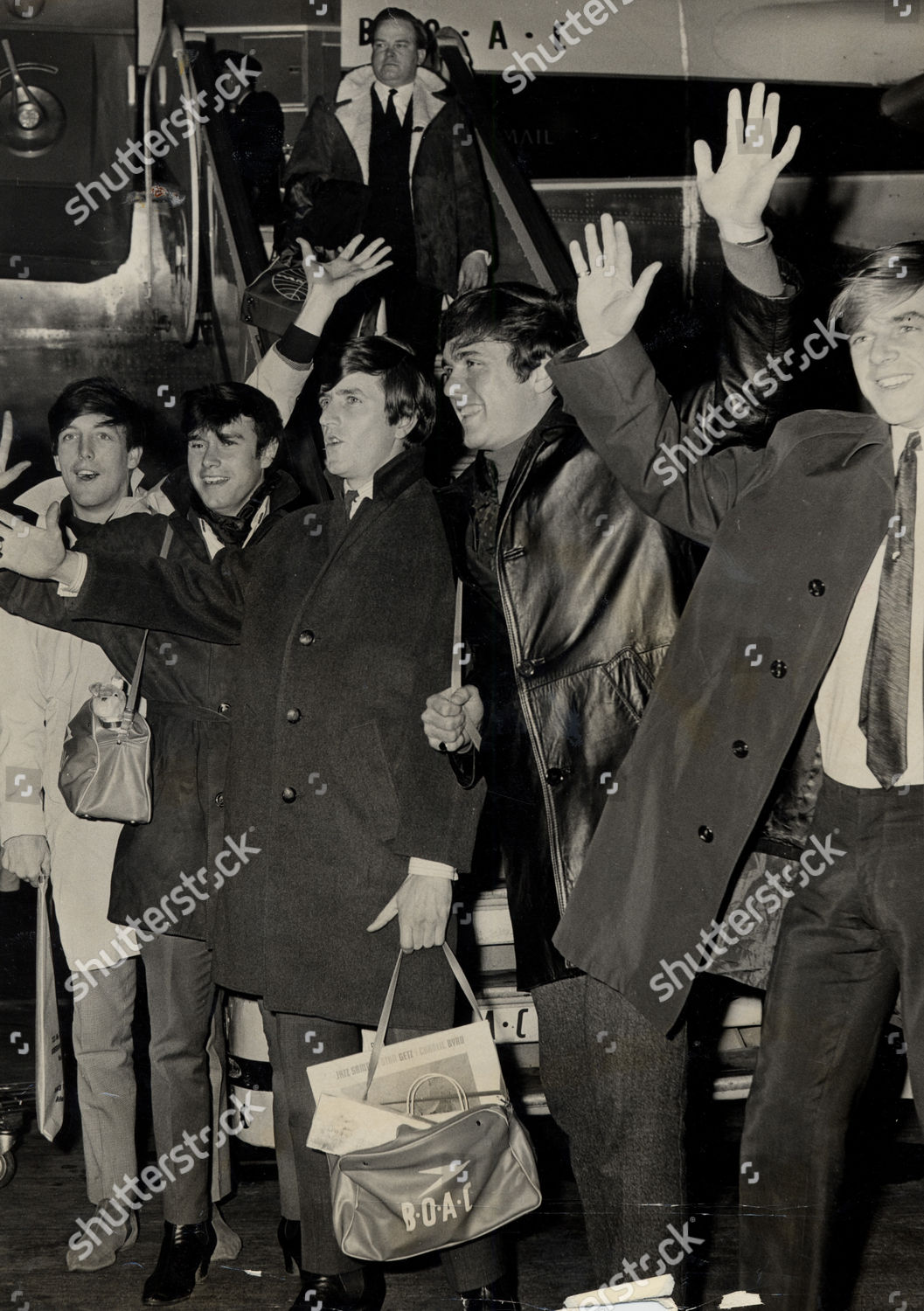 Dave Clark Five Pop Group Pictured London Editorial Stock