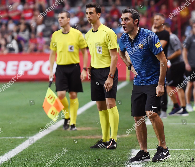 FC Barcelona coach Ernesto Valverde Stock Photo (8983577bl ... 6a441bf030728