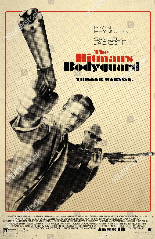 Hitmans Bodyguard 2017 Poster Art Ryan Reynolds Editorial Stock Photo Stock Image Shutterstock
