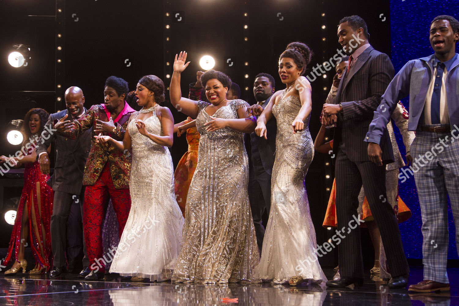 Stock photo of 'Dreamgirls' musical, Media Night, London, UK - 09 Aug 2017
