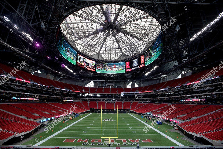 dc5bbda6 MercedesBenz Stadium new home Atlanta Falcons football Editorial ...