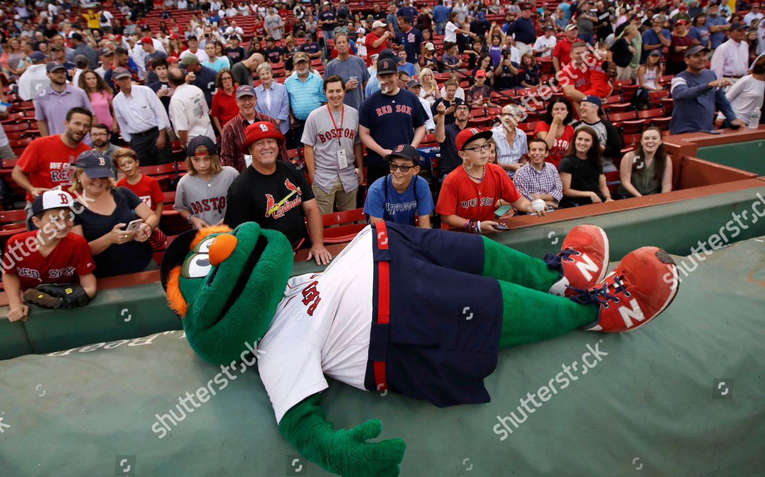 Outstanding Wally Green Monster Mascot Prior Baseball Game Editorial Inzonedesignstudio Interior Chair Design Inzonedesignstudiocom