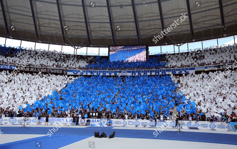 Hertha Fans Editorial Stock Photo Stock Image Shutterstock
