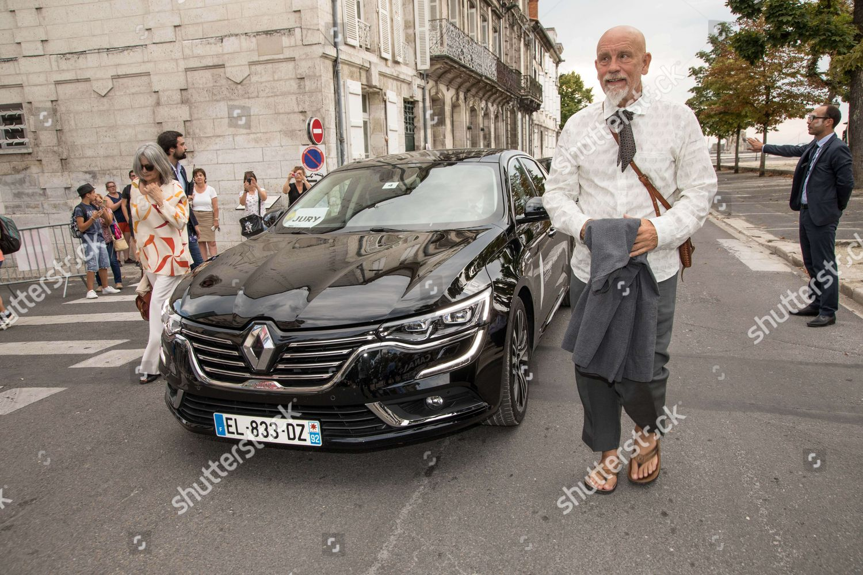 Photo of John Malkovich  - car
