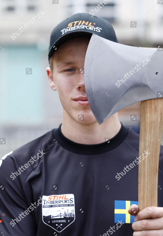 Ferry Svan Junior World Champion Timbersports Competes Editorial Stock Photo Stock Image Shutterstock