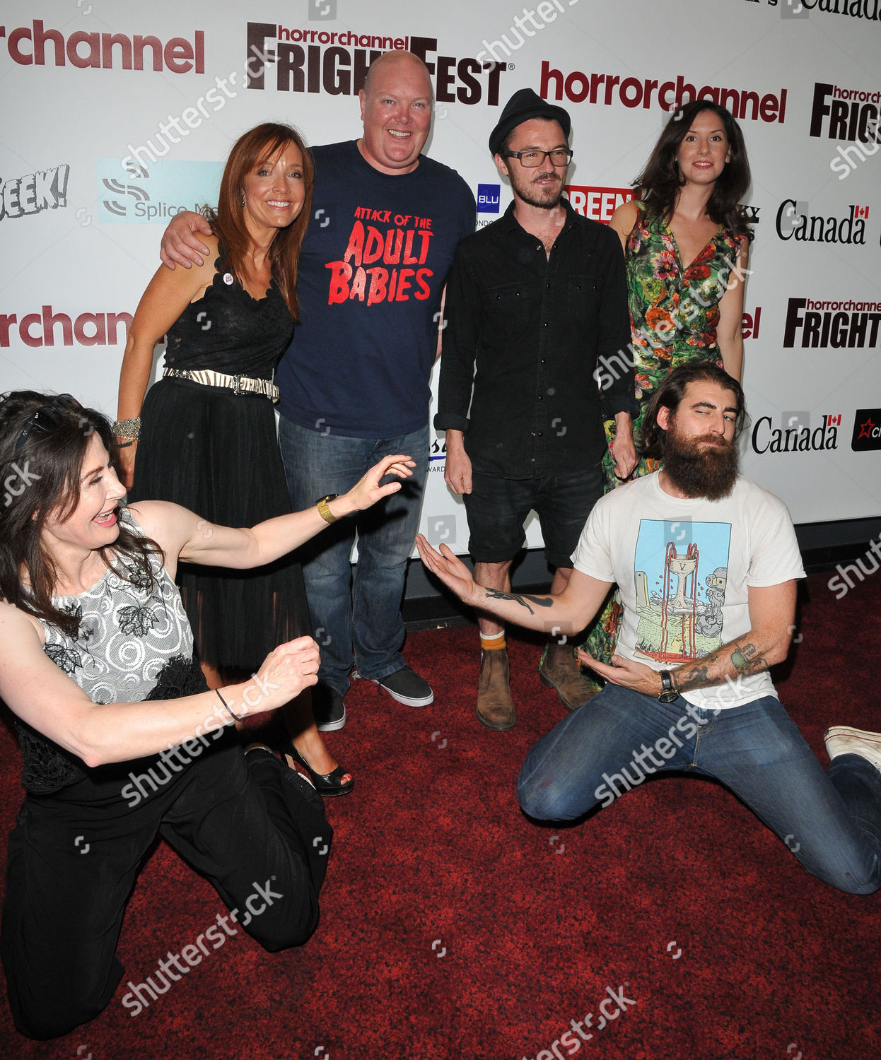 'Attack of the Adult Babies' film premiere, Horror Channel FrightFest,  London, UK Stock Image by Can Nguyen for editorial use, Aug 26, 2017