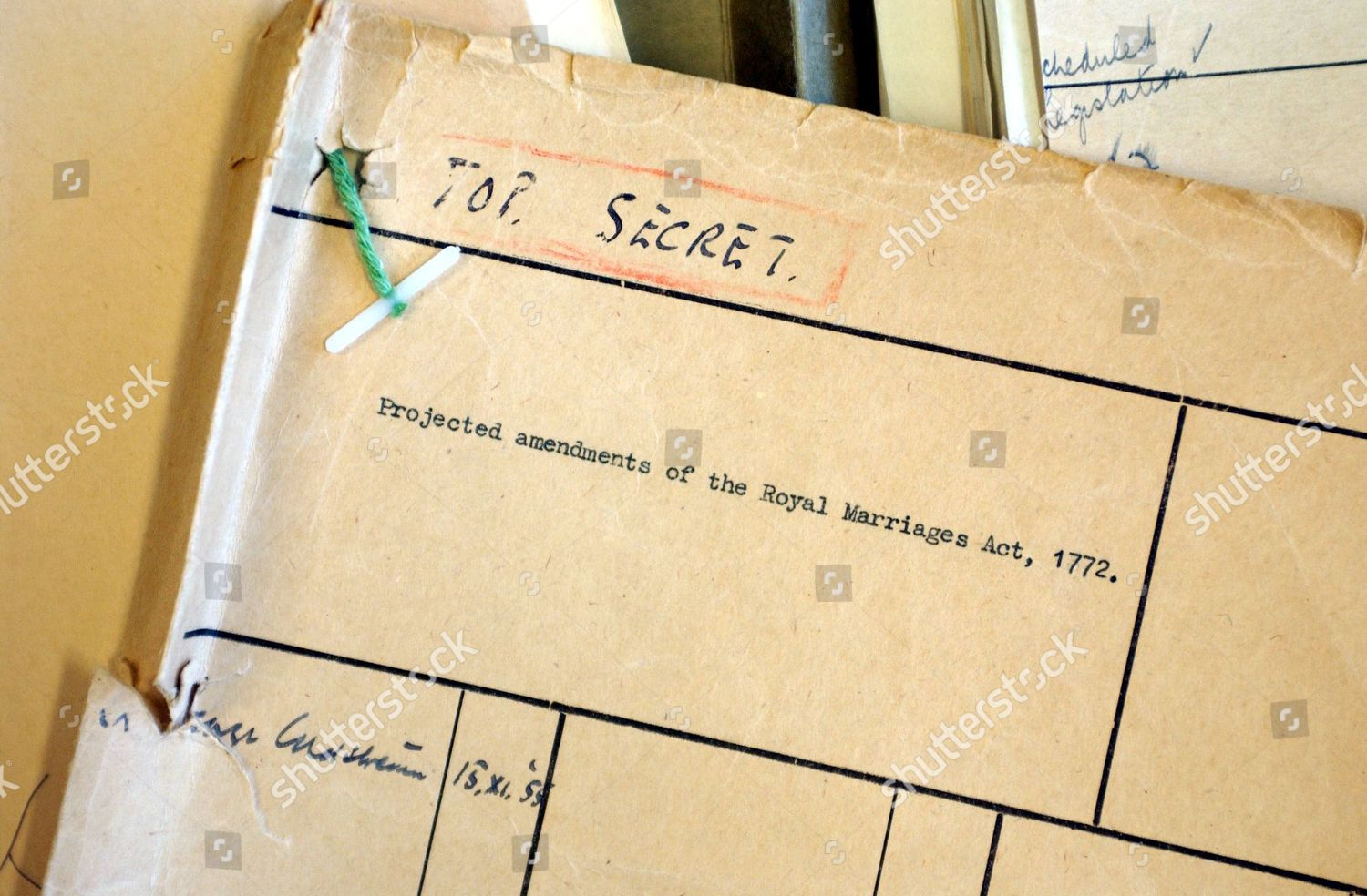 Royal Marriage Documents Public Records Office Kew Editorial