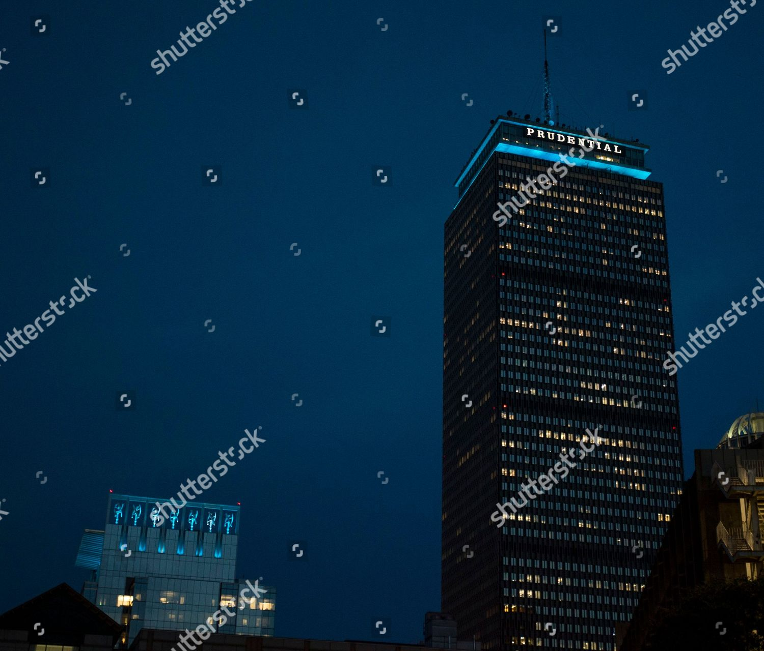 Top Prudential Tower Right 888 Boylston St Editorial Stock Photo Stock Image Shutterstock