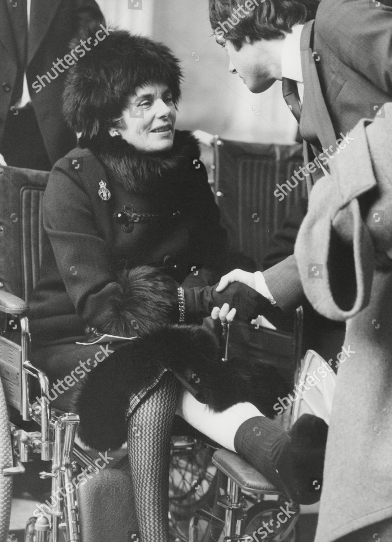 Patricia Knatchbull 2nd Countess Mountbatten Burma Speaking ...