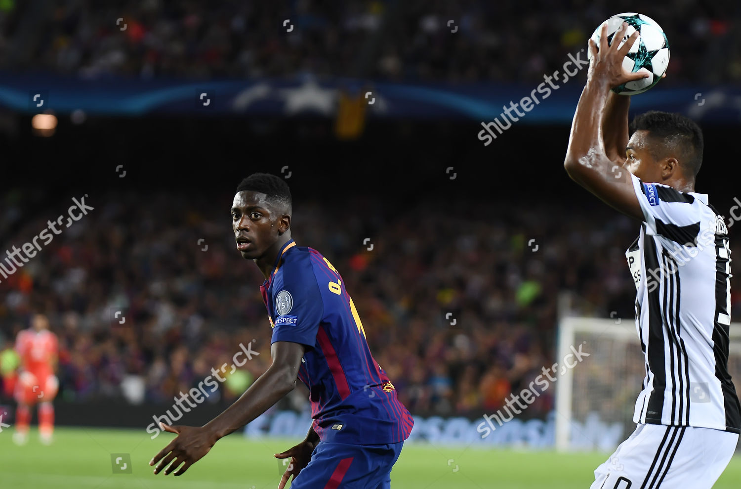 Alex Sandro Juventus Ousmane Dembele Fc Barcelona Editorial Stock Photo Stock Image Shutterstock