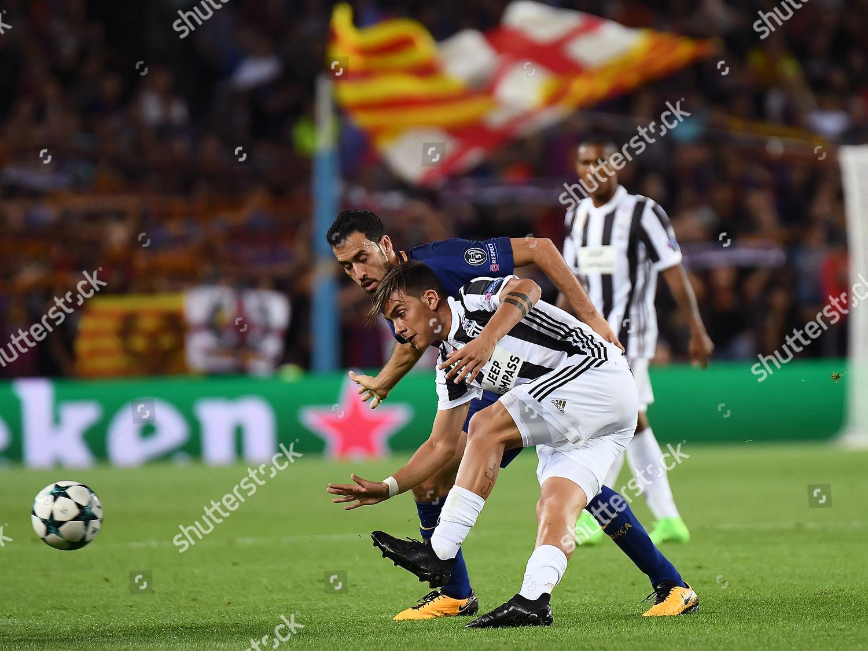 Paulo Dybala Juventus Fc Sergio Busquets Fc Editorial Stock Photo Stock Image Shutterstock