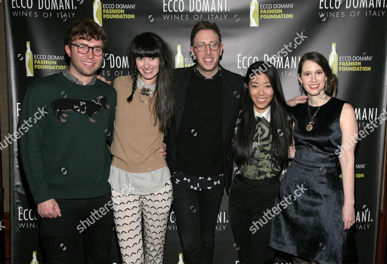 f1c390681e7 Stock photo of Ecco Domani Fashion Foundation 2014 Winners Happy Hour, New  York, USA