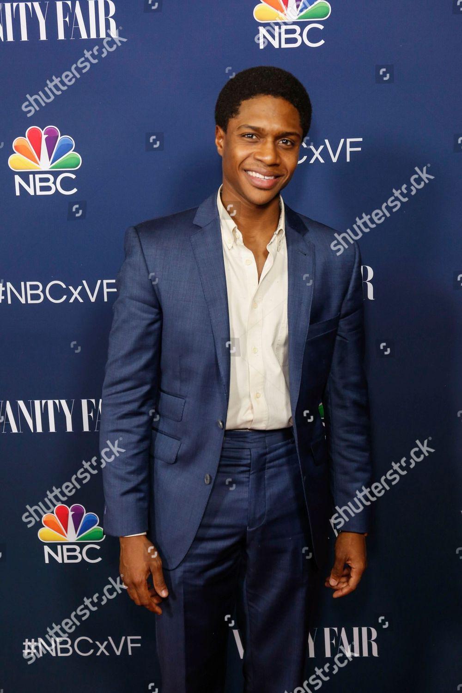 4c0f95869a9e Ephraim Sykes arrives NBC Vanity Fair Toast Editorial Stock Photo ...
