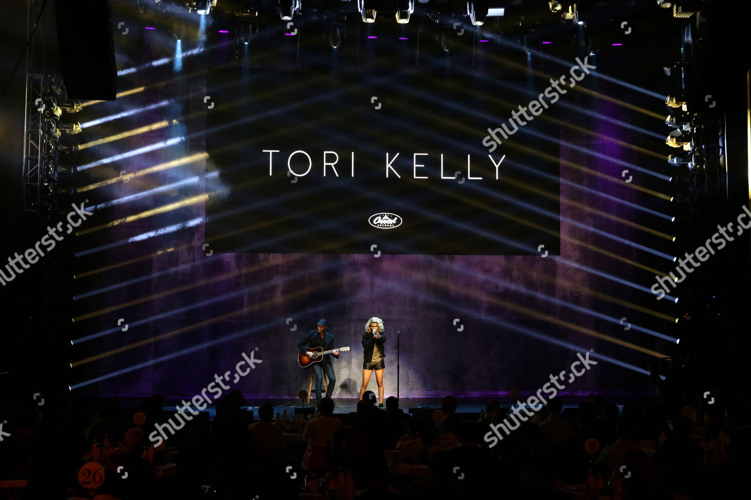 Tori Kelly performs Universal Music Group Artists Editorial Stock